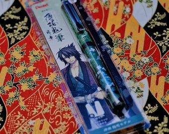 Japanese Pen Fude for write Draw manga HAKUOKI Shinsengumi Samurai Soshi Okita version