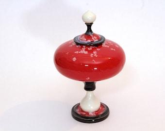 Cherry Red Jar