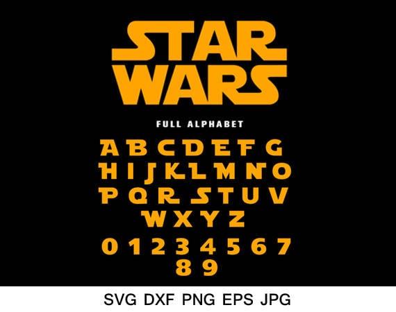 Star Wars Schriftart