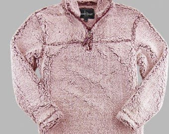 Monogrammed Sherpa Boxercraft Pullover~1/4 zip~Hoodie~Christmas present~Fall Must Have