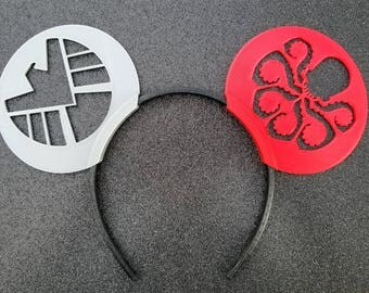 Shield and Hydra Cutout Ears