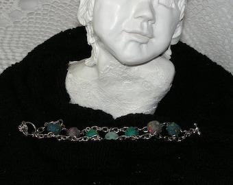 Bracelet felt, felt, handmade bracelet,