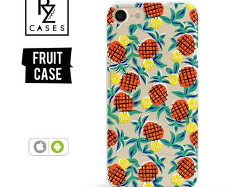 Pineapple Phone Case, Fruit Phone Case, iPhone 7 Case, iPhone 6 Case, iPhone 7 Plus Case, iPhone 6 plus, Samsung Phone Case, Samsung Galaxy