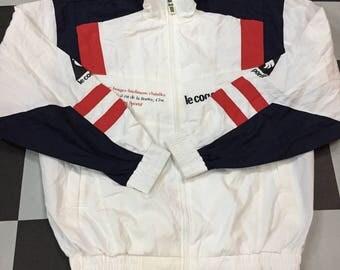 Vintage Le Coq Sportif Jacket Windbreaker