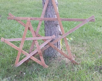 Rustic stars for home or garden