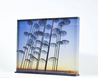 Umbrellas - Thessaloniki (print 19x13,6)