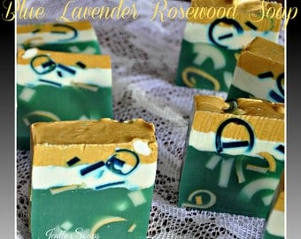 Blue Lavender Rosewood Soap