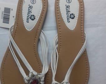 wedding/beach flip flop