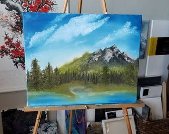 Grassy Mountain Lake