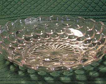 Bubble (Bulleye Provincial) Large Berry Bowl by Anchor Hocking