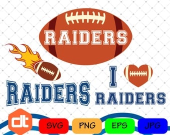 Raiders Svg Dxf Png Cut Vector File Silhouette Cameo Cricut Design Vinyl Decal - INSTANT DOWNLOAD