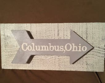 Columbus Ohio Arrow