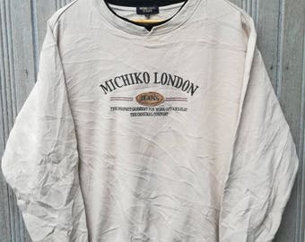 Vintage Michiko London Jeans Sweatshirt