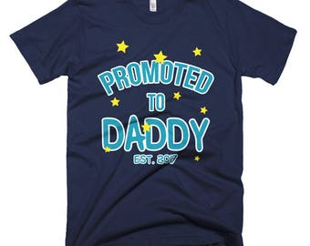 Promoted to Daddy 01 Short-Sleeve T-Shirt