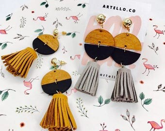 Fendison Tassel Earrings
