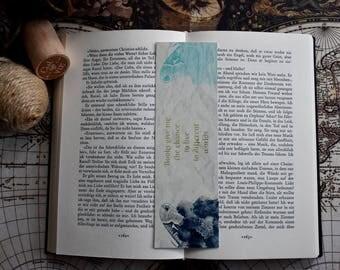 Vintage Bookmark Different Worlds