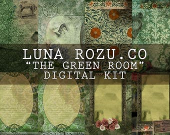 The Green Room - Digital Journal Kit