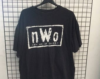 Vintage NWO New World Order T-Shirt
