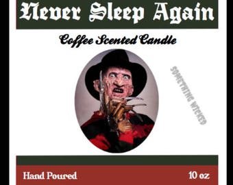 Freddy Krueger | Nightmare On Elm Street | Horror Villain | Coffee Scented | Inspired Candle