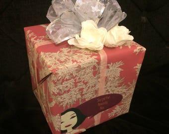 Secret Surprise celebration boxes