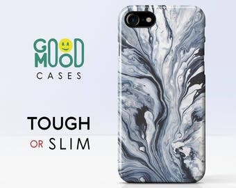 Liquid Marble - iPhone 7 case, iphone 8 case, iphone 6 case, iphone 7 plus case, iphone 8 plus case, iphone 6 plus case, iphone X, Marble