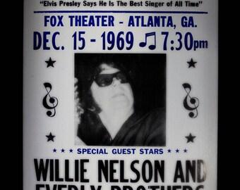 Roy Orbison Retro Concert Poster