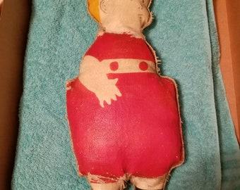 Vintage tintin doll