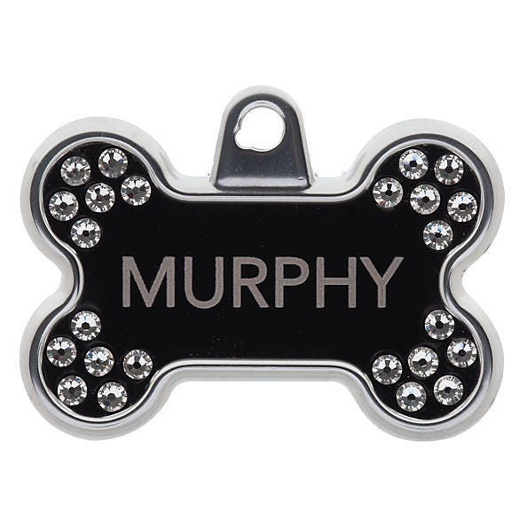 dog name tag pet id tag personalized dog tag bone tag for dogs
