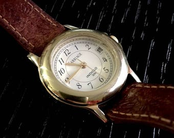 Ladies Excellent CARRIAGE (by TIMEX) INDIGLO Wrist Watch w/Dat