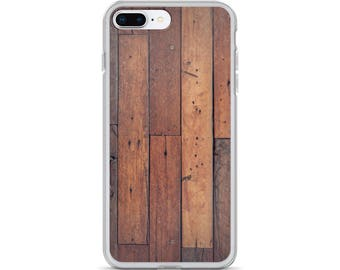 iPhone Cases, iPhone X Case, iPhone 6/6S, iPhone 7/7+ Cases ,Case iPhone 8/8+ Case, Wooden plank print