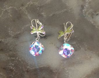 """Kirks Folly Rare  """"Dragonfly """" Earrings NEW (OTHER)"""