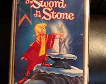 The Sword in the Stone VHS Movie