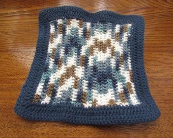Crochet Dishcloth/Crochet Dishrag/Multi-Colored Dishcloth/Dishcloth/Dish Cleaning/ Cleaning Cloth