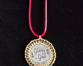 Christmas token pendant