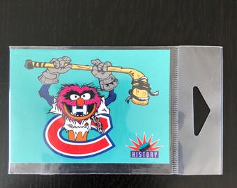 The Muppets Montreal Canadiens Fridge Magnet