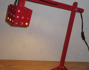 way Meccano architect lamp