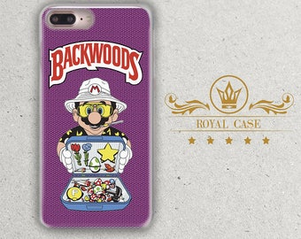 Nintendo, iPhone 7 case, iPhone 6S Plus Case, Backwoods, iPhone 6S Case, Mario, iPhone 7 Plus case, iPhone 8 Case, iPhone 8 Plus Case, 388