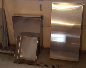 Maple syrup evaporator pan 2x4x6 stainless steel tig welded