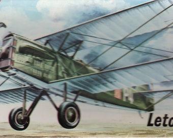Letov S.16 WWI Aircraft Plastic Model Kit 1:72 Kp Plastikovy Models