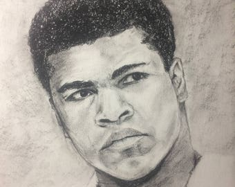 Custom Charcoal Portrait