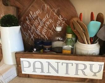 Farmhouse Pantry Sign