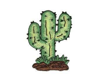 Ac62 Cactus Plant Patch Patches size 6 x 8 cm