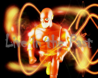 Toy Biz Flash Action Figure 8x10 toy photo print