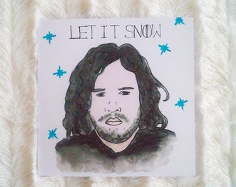 Let it Snow - Game of Thrones Christmas Card