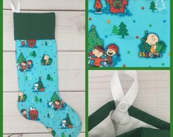 Peanuts Snoopy Christmas Stocking