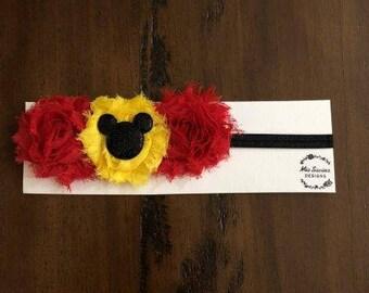 Mickey Inspired Headband
