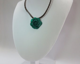 Necklace single begonia