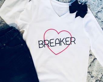 Heart breaker Valentines Shirt