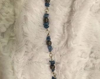 Blue Grey Bracelet