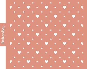 Hearts Cake Stencil, Cookie Stencil, Designer Stencil, Decoupage stencil, Tortenschablone